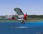 F4B-4 takeoff and precision turn