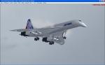Concorde Landing in LOWS