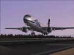 Alaska 737 takeoff
