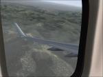 FVA 738 Descending over Idaho