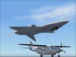 YF-23 Upside-down