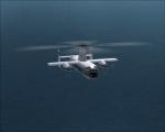 Fairey Rotodyne over Lake Superior