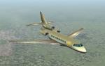 Dassault F7x at 39,000 feet