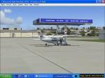 Cessna at pumps