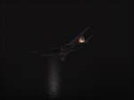 Flying in fog inbound to KLAX