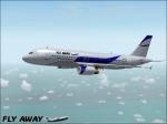 "FlyAway A320 ""Blue"""