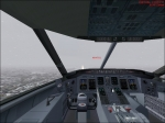 CRJ-200 ILS approach in virtual cockpit