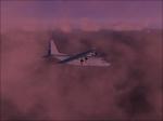 C130 through clouds