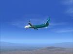 Global Star flight 762 approaching LAS