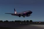 Gatwick Landing
