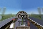 Strange aircraft cockpit