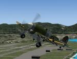 Hawker Typhoon takeoff from Honolulu