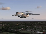 il76 over Moscow suburbs