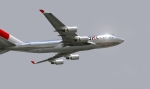 JAL silver 747