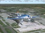 Jodel D140C Leaving de Gaulle Airport-Paris