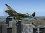 Junkers JU-88 Flyby Chrysler Building