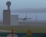 Aircraft departing Dallas