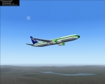 Emerald Harbor Air LDS 767 in Flight