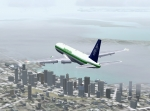 Slow approach into SeaTac