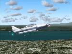 Lancair Legacy in Flight