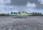 Luftwaffe JU52M in Russia ready for take off