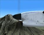 Flying past Mt Taranaki