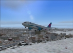 A cold morning at Manchester Airport
