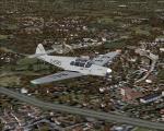 Messerschmitt Bf 108 B-1 over Düsseldorf