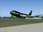 Boeing 747 Monster Energy
