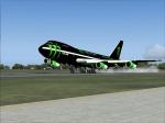 Boeing 747 Monster Energy