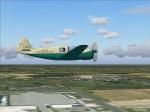 Norecrin 1203 Nord 1203/II Norecrin II flying over airport