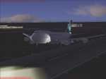 Touchdown on Runway 06 HKJK Nairobi