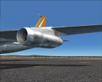 Boeing 707 engine