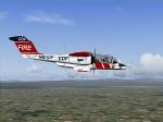 Rockwell OV-10 Bronco CDF Fire Air Attack