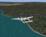 Lockheed P-38L over Pauanui (NZUN) NZ