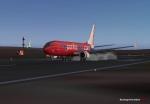 Pacific Blue 737 @ Dunedin