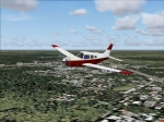 Red/White Piper PA28-235 Cherokee