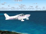 Piper Warrior III on a flight from SEST to SEGS