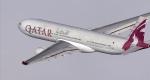 Qatar A330 Departing London