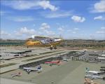 Rans S-7c Courier over KLAX