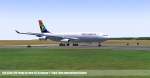 SAA A340-200 Cape Town International Airport