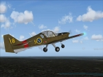 The S.A. BULLDOG T. MK1 TRAINER