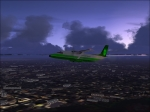 Dawn departure from Dehli India in a Shorts 360