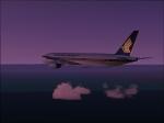 Singaport approaching Dubai