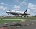 ERJ-145 landing