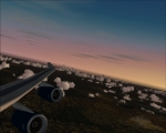 BA 747-400 Changing course towards Paris