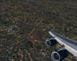 BA 747-400 Turning onto final