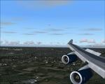 BA 747-400 Full flaps & airbrake