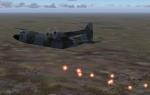 RAF Herc over hostile territory