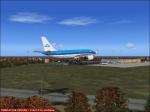 KLM Landing at EBBR